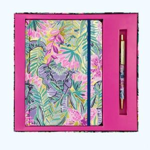 Lilly Pulitzer Journal and Pen Set